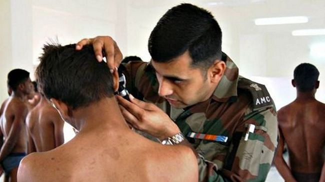 Army Medical Exam/Medical Test Army Recruitment Rally Indian